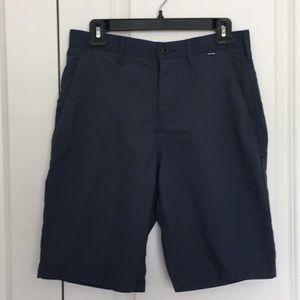 Hurley Nike Dri-Fit Mens Short Size 29 Blue